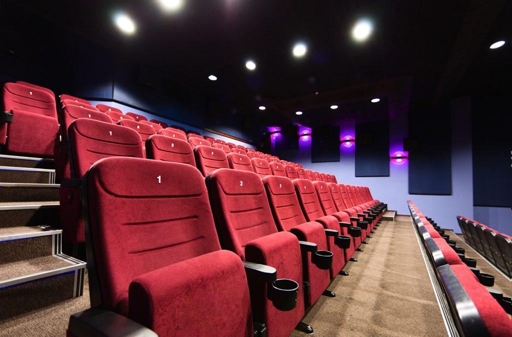 Kinos und Freizeitzentren